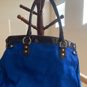 100% real leather Cow hair Italian bag!